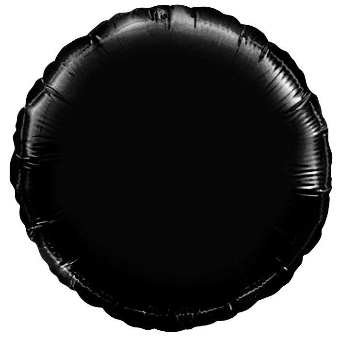 Как на фото поставить черный круг