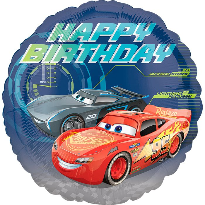 Тачки СДР / Cars Happy Birthday S60